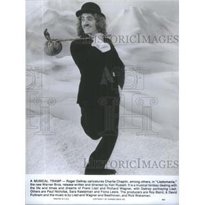 1975 Press Photo Lisztomania Film Actor Daltrey Charlie Chaplin Scene