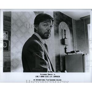 1990 Press Photo Alexander Zbuyev Lonely Woman Life - RRY53315