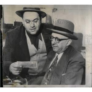 1954 Press Photo Washington Money Theft - RRX09731
