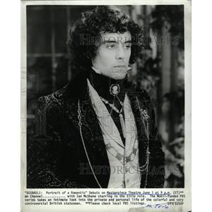 1982 Press Photo Ian McShane Disraeli Actor PBS - RRW11795