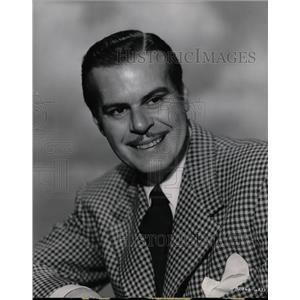 1900 Press Photo Billy De Wolfe American Actor - RRW26521