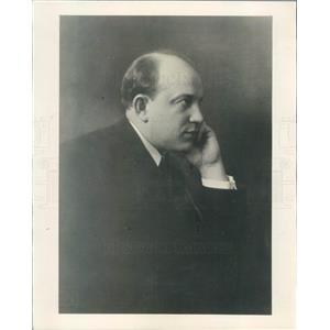 1930 Press Photo Chicago IL Hans Hermann Nissen Civic Opera Singer - ner46851