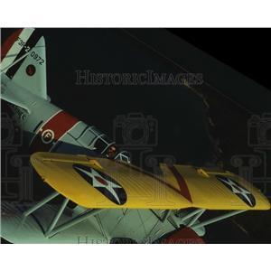 1994 Press Photo Vintage Aircraft at Lone Star Flight Museum in Galveston
