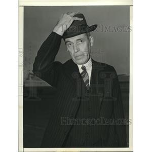 1942 Press Photo Sir Owen Dixon, Australian Minister arrives in Washington, D.C.