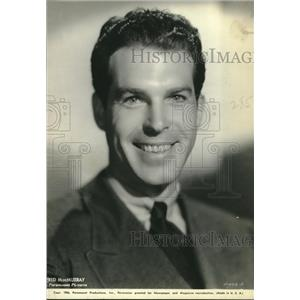 """1934 Press Photo actor Fred MacMurray in """"Hands Across the Table"""" - lrz00071"""