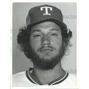 1979 Press Photo Jim Kern Texas Ranger Baseball MLB - RRQ19167