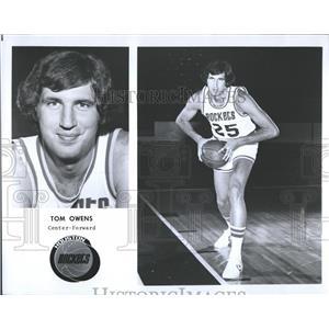 1976 Press Photo Tom Owens, Basketball Player - RRQ46847