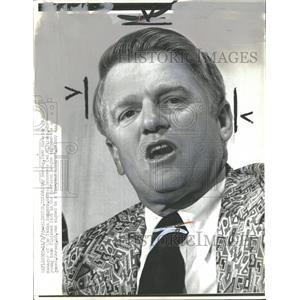 1972 Press Photo Whitey Herzog Baseball Manager Texas - RRQ39927