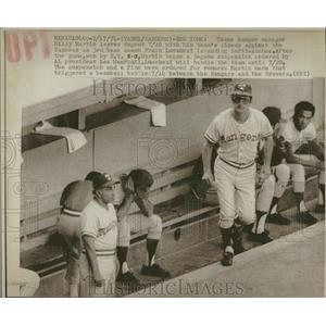 1974 Press Photo Billy Martin Texas Rangers Manager - RRQ14891