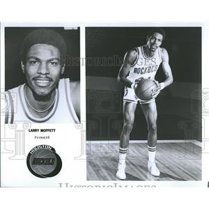 1979 Press Photo Houston Rockets Forward Moffett - RRQ55869