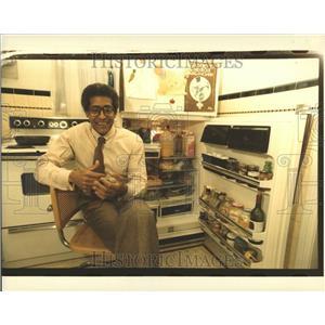 1984 Press Photo Kenneth Vern Ken Cockrel Jr Michigan - RRV59055