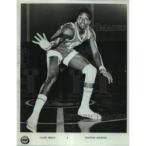 Press Photo Houston Rockets basketball player Cliff Meely - sas17493