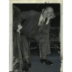 1946 Press Photo Senator Theodore G. Bilbo during investigation, Jackson, Miss.