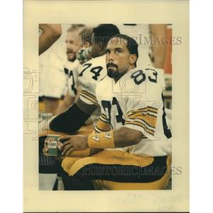 1988 Press Photo Pittsburgh Steelers football player Louis Lipps - nos18752