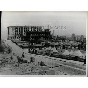 1976 Press Photo Nob Hill, San Francisco, in 1906 - RRX80219