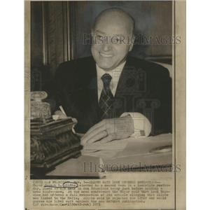 1971 Press Photo Mayor Joseph Alioto election Landslide- RSA84451