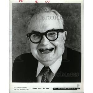 1987 Press Photo Larry Bud Melman Late Night Letterman - RRW15279