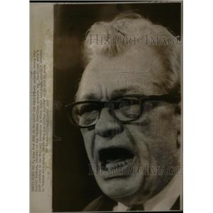 1968 Press Photo Senator Everett Dirksen Illinois - RRX26755
