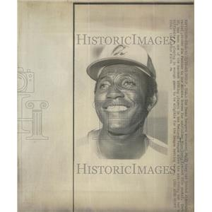 1972 Press Photo Texas Rangers' Jim Panther traded to the Braves - RSC29127
