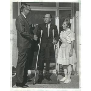 1967 Press Photo Jackie Fields Weight Champion Olympic Title Holder Las Vegas