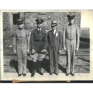 1934 Press Photo Clinton Iowa Military academy NY US- RSA52019