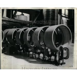 1941 Press Photo shells field drums soldier US Army - RRX08389