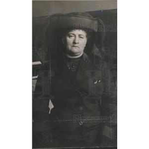 1912 Press Photo Mrs. Louise O. Lindloff United States Chicago Murderer