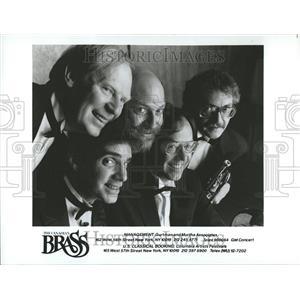 1987 Press Photo Canadian Brass Quintet Dr. Daellenbach - RRV81547