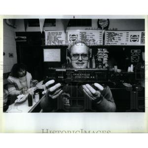 1987 Press Photo Snackville Junction Jeff Shilhan toy - RRX18225