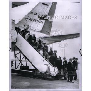1965 Press Photo Michigan Businessmen Netherlands Tour - RRX29711