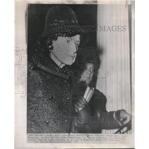 1963 Press Photo Mrs Rose Kennedy St Francis Xavier - RRV15171