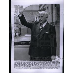 1956 Press Photo Robert Menzies prime minister Robert - RRX26819