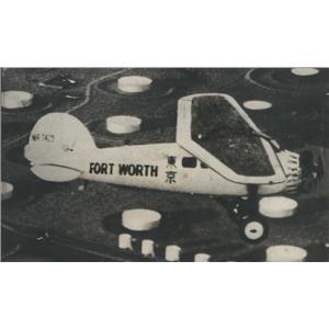 1931 Press Photo Plane flown by Reggie Robbins. - RSC86423