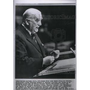 1960 Press Photo Robert G. Menzies Australian Minister - RRX26815