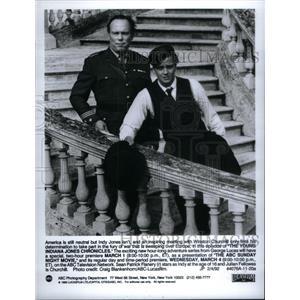 1992 Press Photo Young Indiana Jones Series Churchill - RRX30335