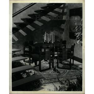 1974 Press Photo Contemporary lines Syroco moldel Cozy - RRW22463