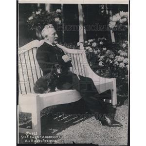 1922 Press Photo William Hohenzollern Master Of Doorn Holland - XXB07809