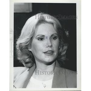 1981 Press Photo Rita Janrette