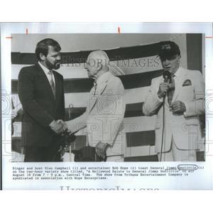 1986 Press Photo General Jimmy Doolittle Aviation Pioneer - RSC67485