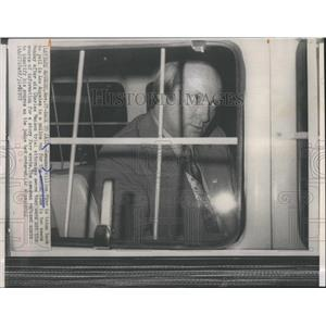 1972 Press Photo Newsman William Farr back to jail for not revealinng source