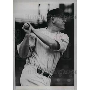 1934 Press Photo Alvin Crowder Pitcher Washington - nea02258