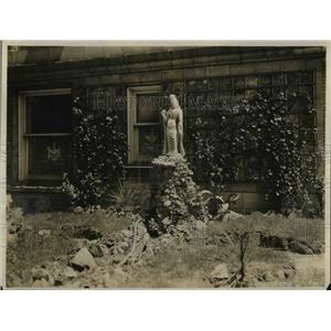 1919 Press Photo Pershing Suite Garden-off Library at Vanderbilt Hotel N.Y.