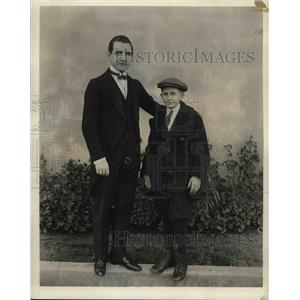 1922 Press Photo Actors Guy Bates Post And Horace A Wade