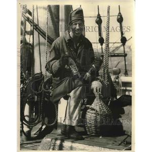 1924 Press Photo Capt. H. C. Billings, adventurer