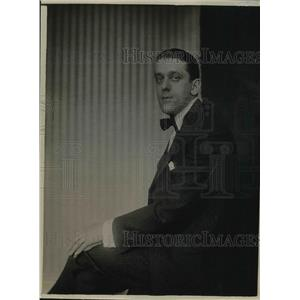 1920 Press Photo John Murray Anderson, Playwright