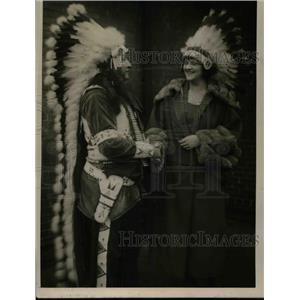 1921 Press Photo Miss Cyrena Van Gordon Primadonna of Chicago Opera Company
