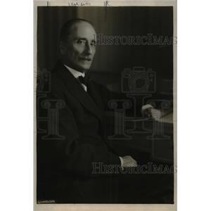 1919 Press Photo Senor Don Baltran Mathieu Ambassador Chile United States