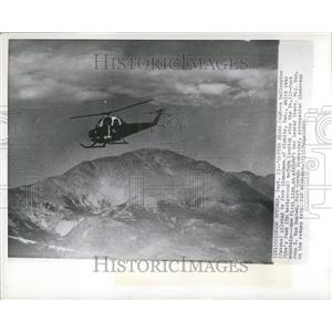 1955 Press Photo Copter Nears Peak Jack Zimmerman Helic - RRT22155