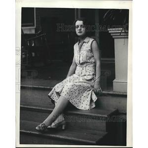 1930 Press Photo Betty Hurtt