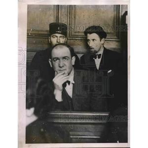 1935 Press Photo Robert Gordon Switz American Spy Released in Paris